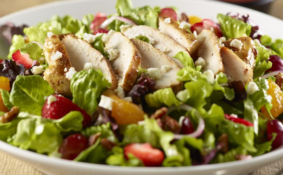 Strawberry-Walnut Salad