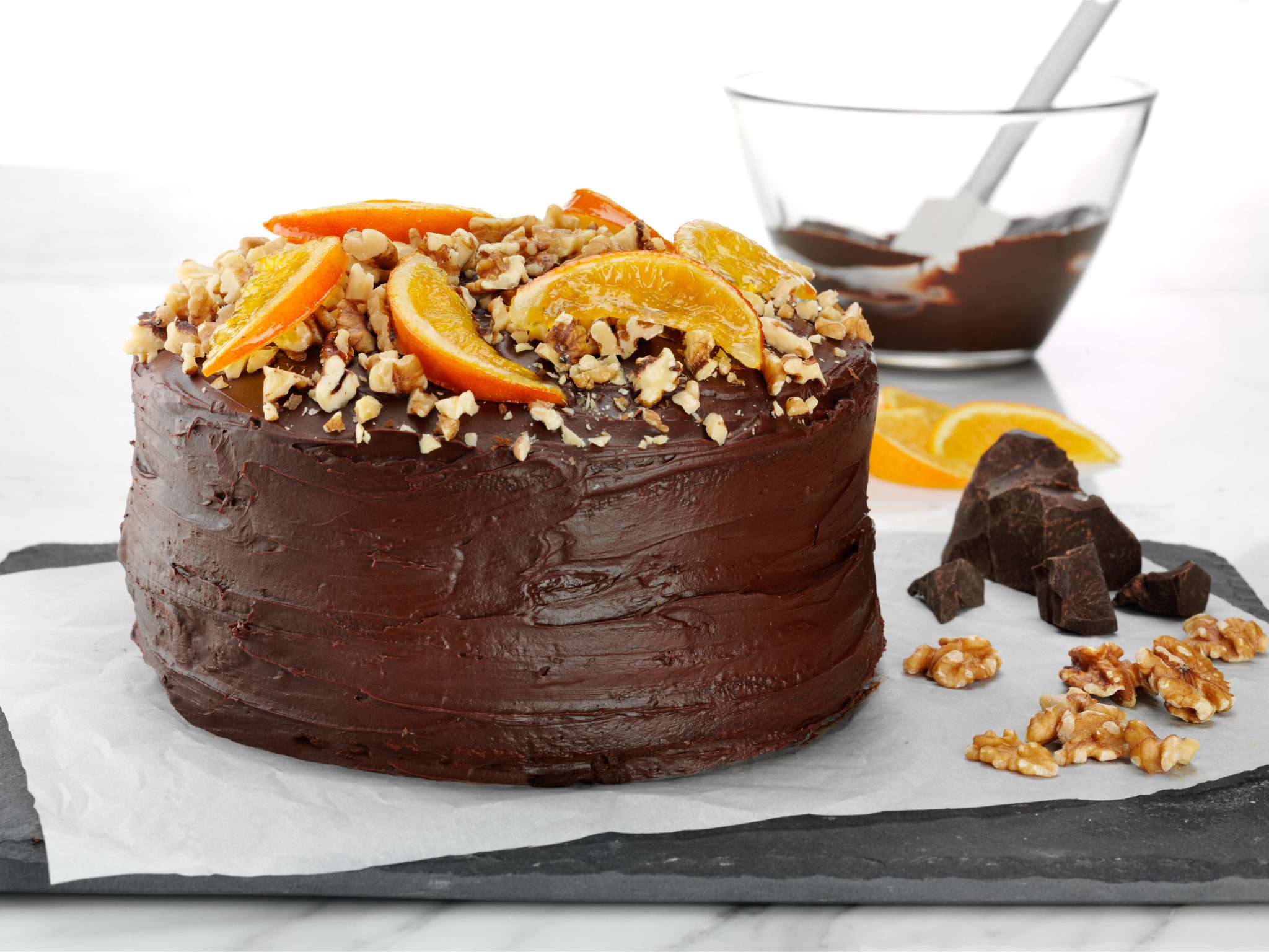 Erna's Gourmet Chocolate Cake