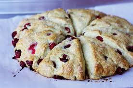 APPLE CRANBERRY BUTTERMILK SCONES