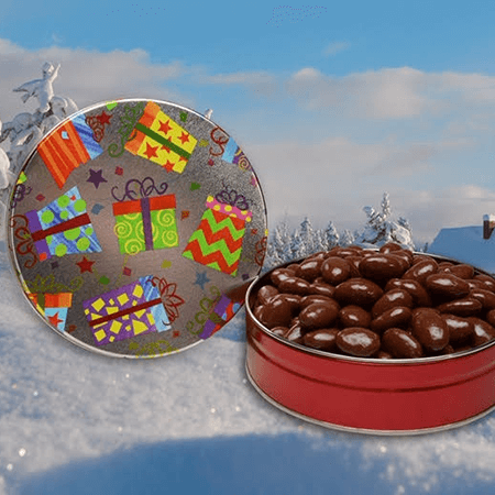 mixed nuts holiday tin