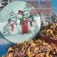 Snow Family Holiday Tin Mixed Nuts