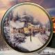 A Village Christmas Holiday Tin
